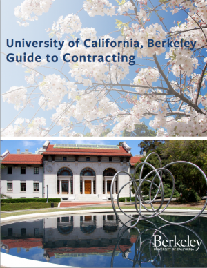 UC Berkeley Guide to Contracting